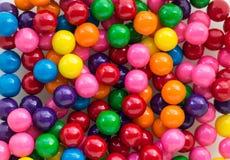 五颜六色的泡泡糖的背景图象 免版税库存照片