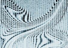 五颜六色的波浪,含水和玻璃状设计计算机生成的例证和背景图象 向量例证