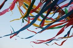 五颜六色的泰国风筝 库存图片