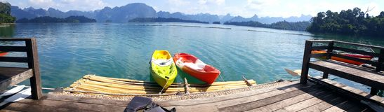 五颜六色的海岛萨哈林岛夏天 免版税图库摄影
