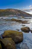 五颜六色的海岸线 免版税库存图片