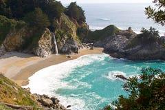 五颜六色的海岸 免版税库存图片