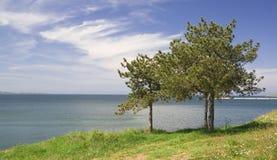 五颜六色的海景 免版税库存照片