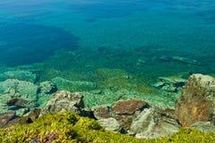 五颜六色的海景 库存照片
