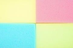 五颜六色的海绵纹理 免版税库存图片