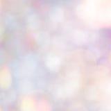 五颜六色的淡色Bokeh背景 库存图片