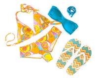 五颜六色的游泳衣 图库摄影