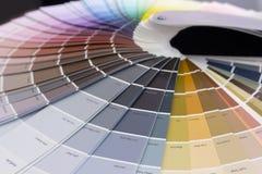 五颜六色的滤网颜色渐进性特写镜头 库存图片