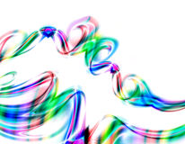 五颜六色的漩涡向量 免版税图库摄影