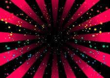 五颜六色的漩涡 免版税库存图片