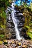 五颜六色的瀑布 库存照片