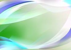 五颜六色的灯光管制线背景 向量例证