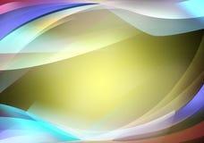 五颜六色的灯光管制线背景 库存例证