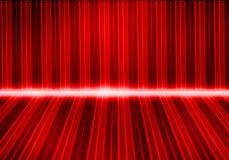 五颜六色的灯光管制线 库存照片
