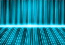 五颜六色的灯光管制线 免版税库存照片