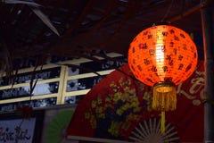 五颜六色的灯笼为越南Tet假日 免版税库存照片