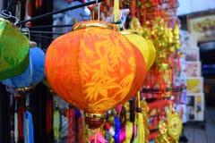 五颜六色的灯笼为越南Tet假日 免版税库存图片