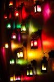 五颜六色的灯 免版税图库摄影