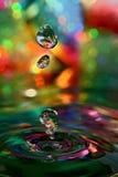 五颜六色的灵魔 图库摄影