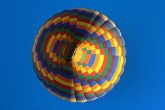 五颜六色的热气球 免版税库存照片