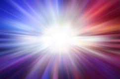 五颜六色的爆炸摘要速度行动光速背景 免版税库存照片