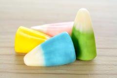 五颜六色的玉米糖果 图库摄影