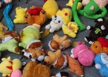 五颜六色的玩偶 免版税库存照片