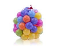 五颜六色的玩具球 图库摄影