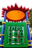 五颜六色的玩具 免版税库存图片
