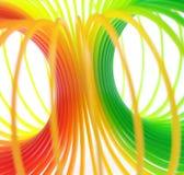 五颜六色的环形 免版税库存照片