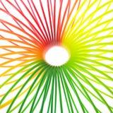 五颜六色的环形 图库摄影