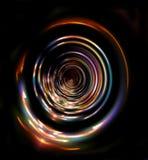 五颜六色的环形 皇族释放例证