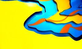 五颜六色的现代纹理背景 图库摄影