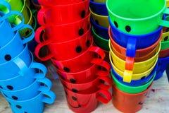 五颜六色的玻璃乐趣 免版税库存图片
