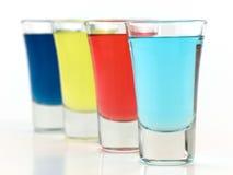五颜六色的玻璃射击 免版税库存照片