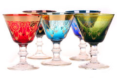 五颜六色的玻璃 库存图片