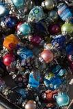 五颜六色的珠宝装饰品 库存照片