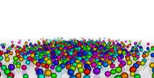 五颜六色的球 免版税库存照片