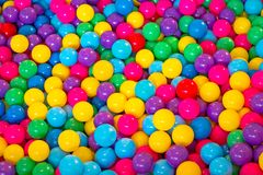 五颜六色的球 库存照片