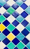 五颜六色的瓦片 免版税库存图片