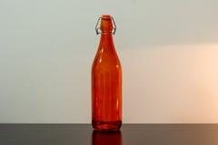 五颜六色的瓶由玻璃制成 免版税图库摄影