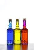 五颜六色的瓶 图库摄影