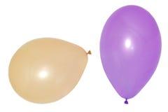五颜六色的生日或党气球 库存照片