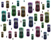 五颜六色的电话 库存图片
