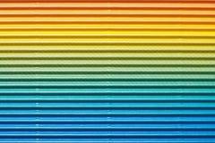 五颜六色的皱纸板或纸背景 库存图片