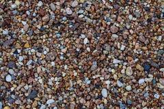 五颜六色的石渣片段 免版税图库摄影