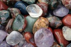 五颜六色的石头 免版税库存照片