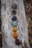 五颜六色的石头 免版税库存图片