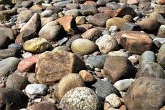 五颜六色的石头 免版税图库摄影