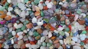 五颜六色的矿物 免版税库存照片